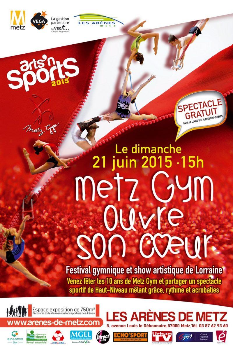 Arts'n'Sports à Metz : un show artistique et du sport de haut niveau