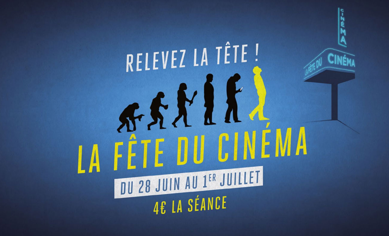 Fête du Cinéma : 4€ la séance pendant 4 jours