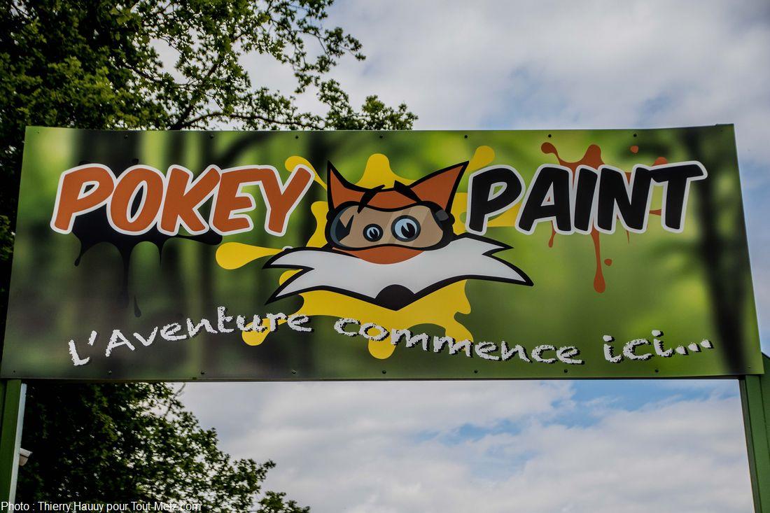Pokeypaint est un spot de paintball à 5 minutes de Metz, et à 20 minutes de Nancy, non loin de l'autoroute A31. Mais lorsqu'on le découvre, on comprend vite qu'il n'entre pas dans la même catégorie que les autres. Le potentiel du lieu est encore important, et les idées pour exploiter les 30 hectares de forêt nettoyée, mais non équipée, ne manquent visiblement pas.