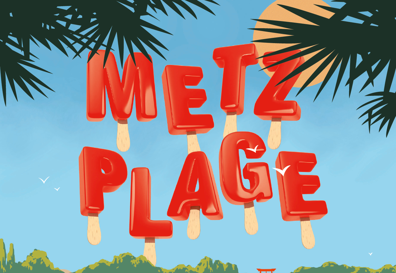 Sortez vos maillots, Metz Plage commence aujourd'hui !
