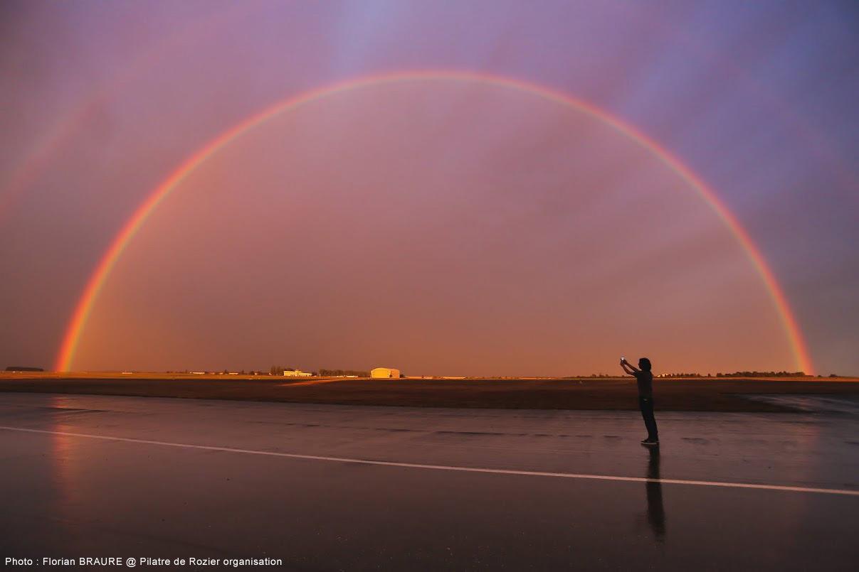Photos : à Chambley, un arc en ciel comme nulle part ailleurs…
