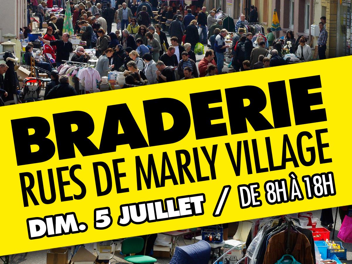Braderie : place aux bonnes affaires à Marly