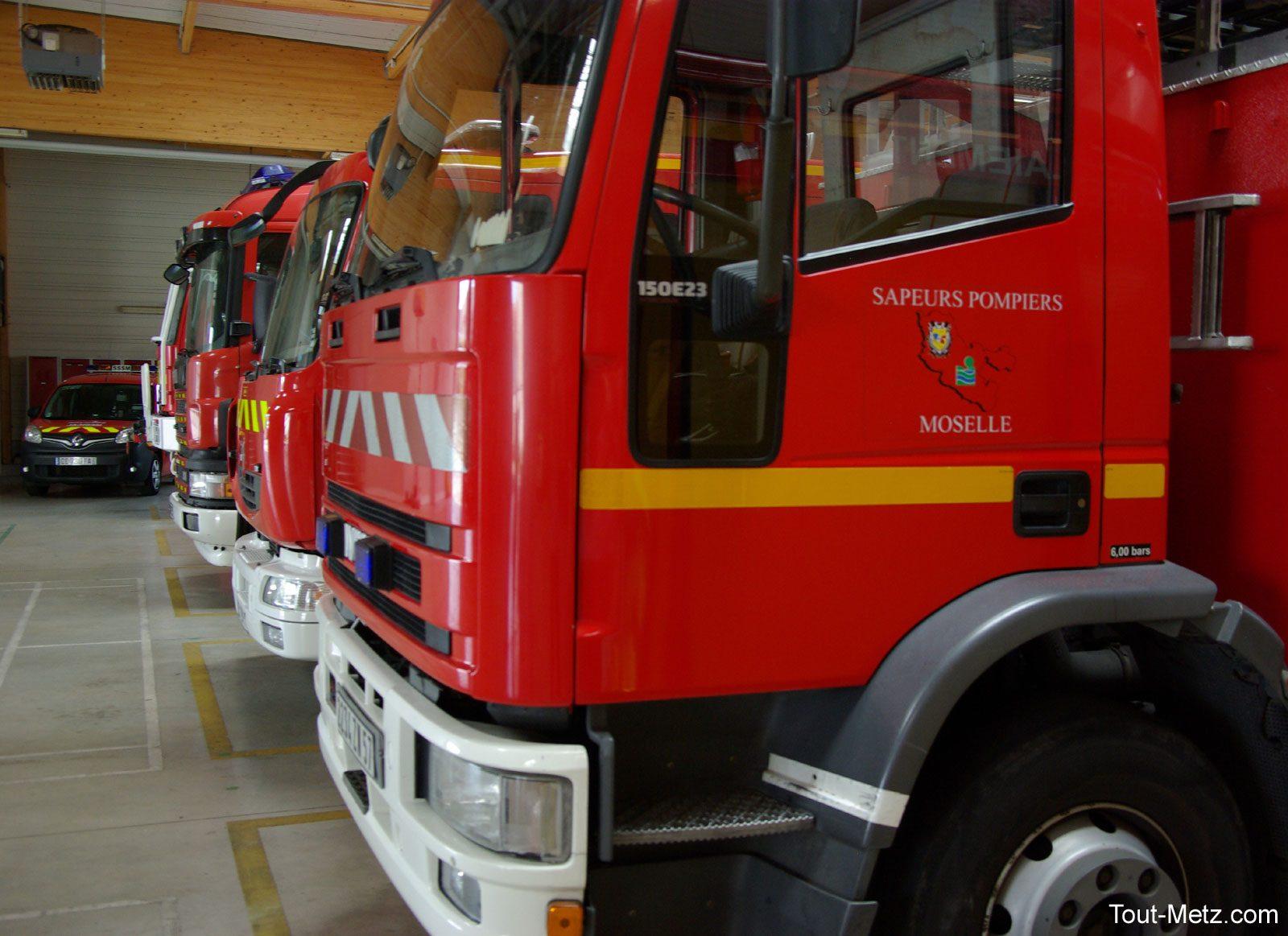 Maizières-lès-Metz : 20h pour maîtriser 2000 tonnes de métaux en feu