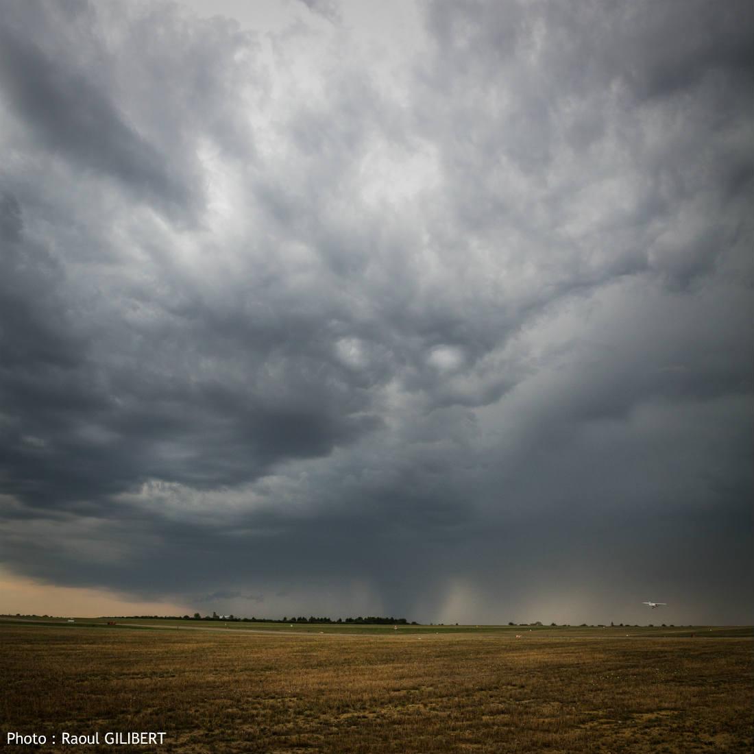Lorraine : attention aux orages et chutes de grêle cet après-midi
