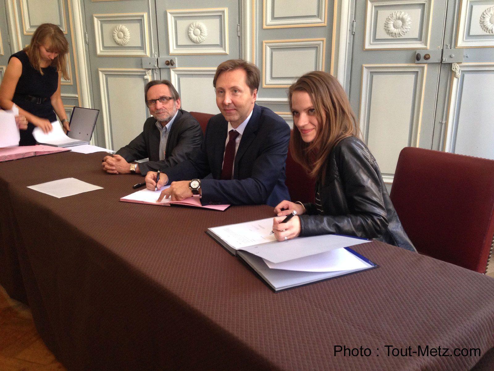 GRDF, la Ville de Metz et l'ALEC signent pour la transition énergétique