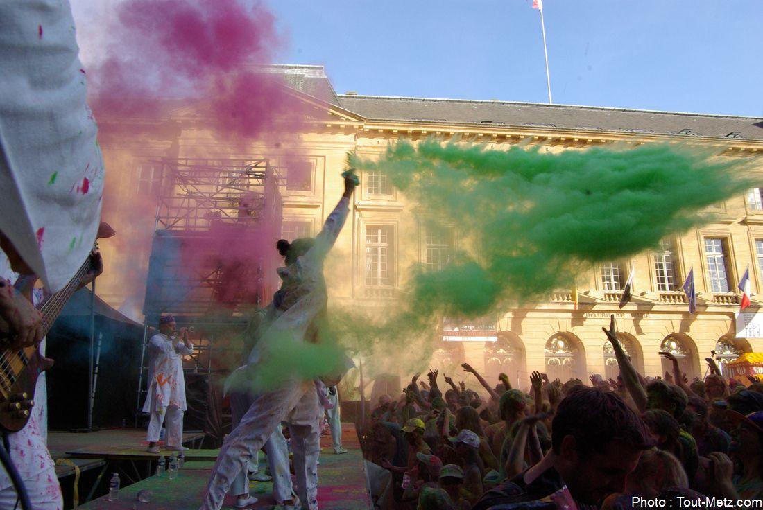 Color' Metz : une course pleine de couleurs et de bonne humeur