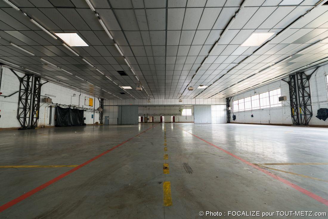 HM14 hangar qui hébergeait les hélicoptères de la base aérienne 128