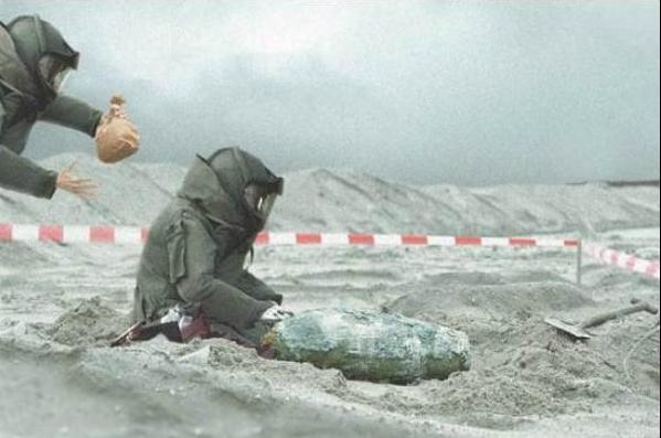 Photo of Insolite : un obus découvert à la BA 128 pendant les Terres de Jim