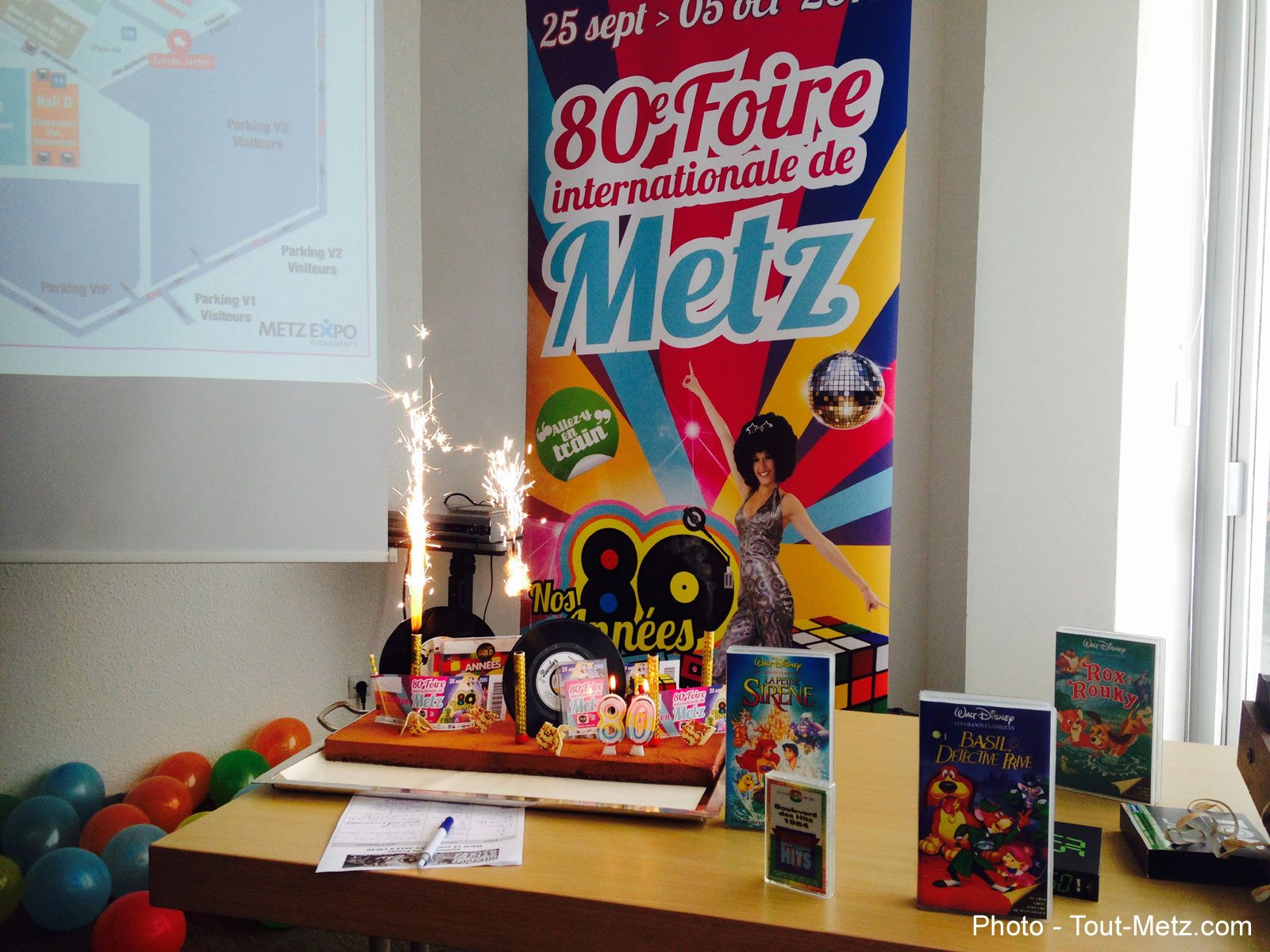 Photo of Top départ pour la Foire Internationale de Metz 2015