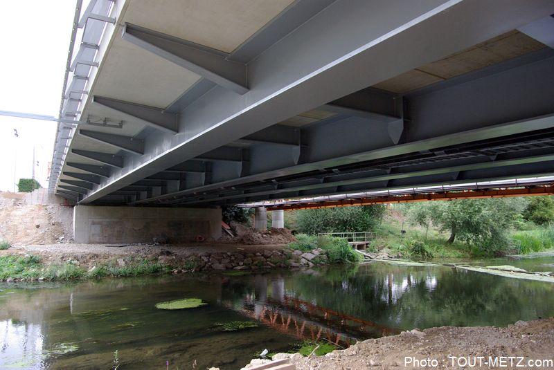 R ouverture du pont lothaire metz fin des travaux for Piscine lothaire