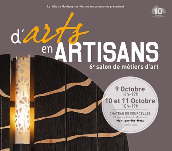 Salon d arts en artisans montigny l s metz 2015 - Metiers d art lorraine ...