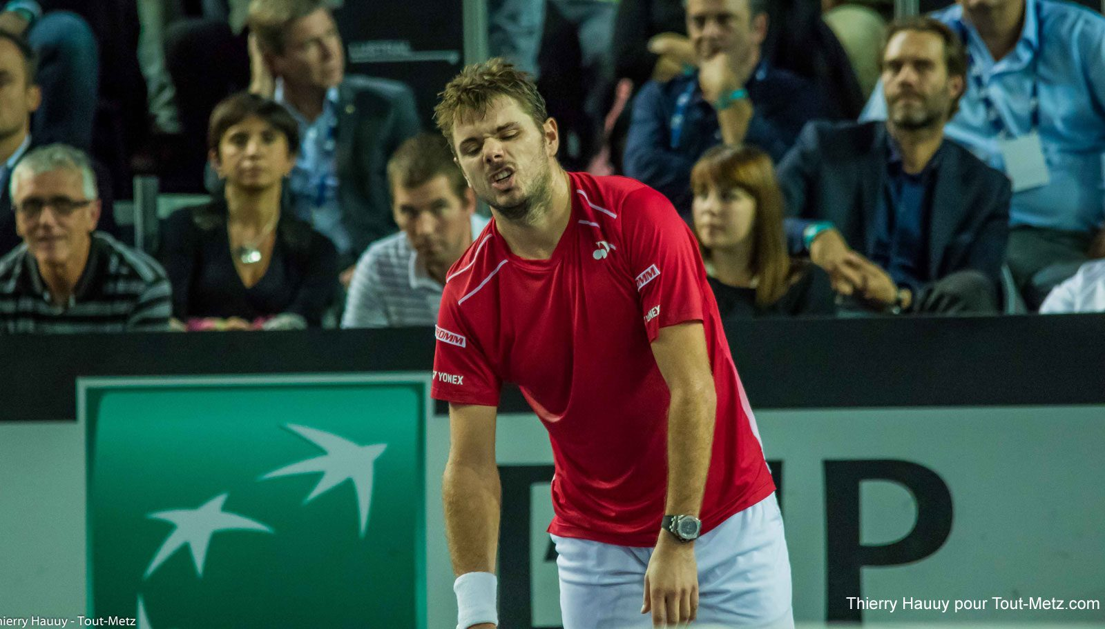 Moselle Open 2015 : Stan Wawrinka déclare forfait