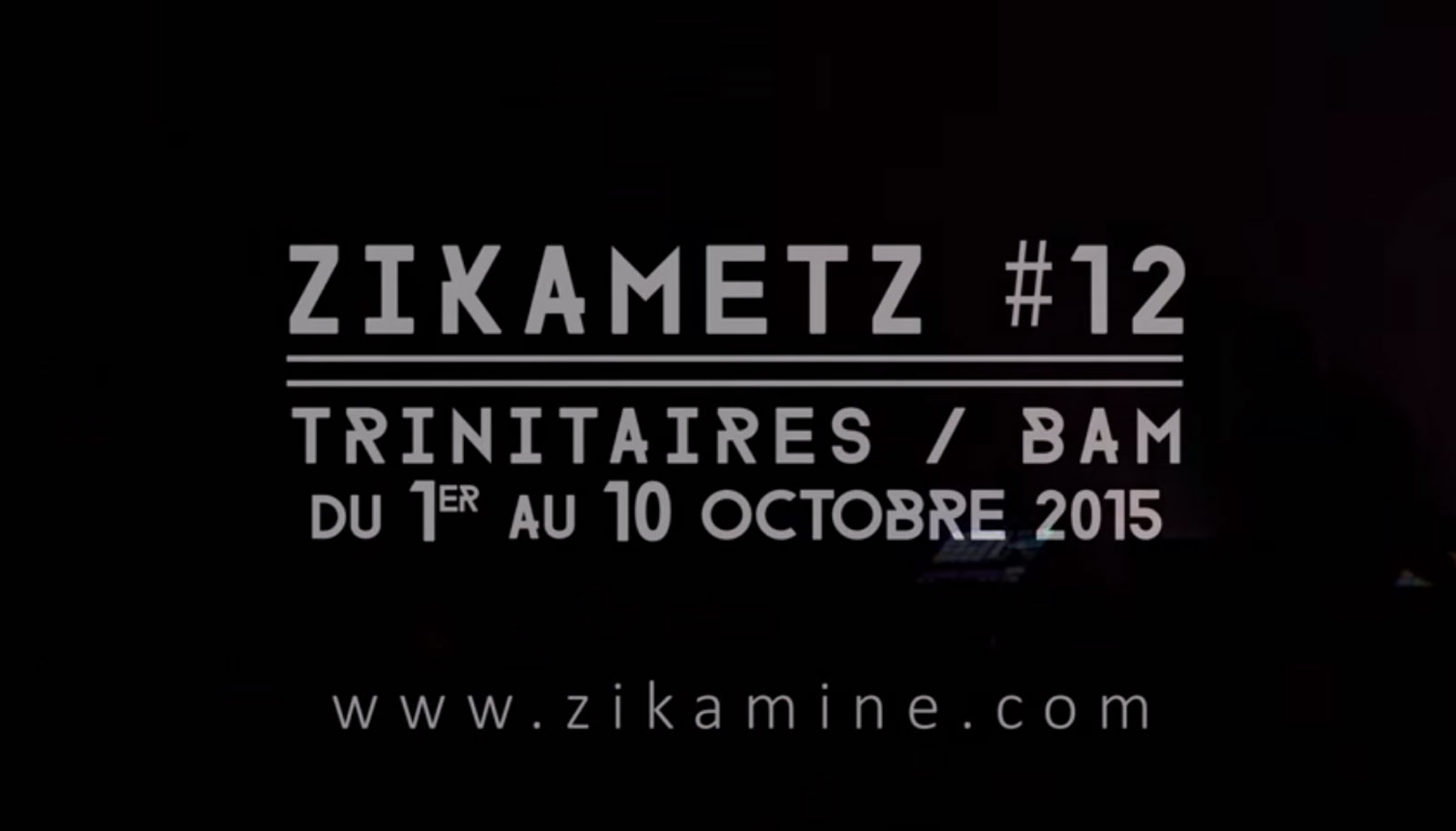 Festival Zikametz 2015 : le programme