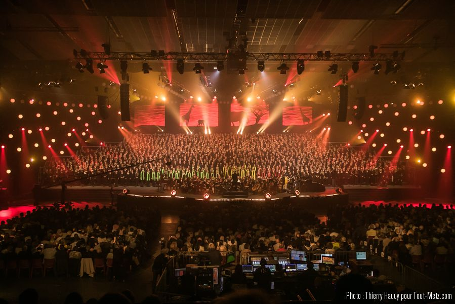 Photo of Amnéville : 2 000 choristes sur la scène du Galaxie