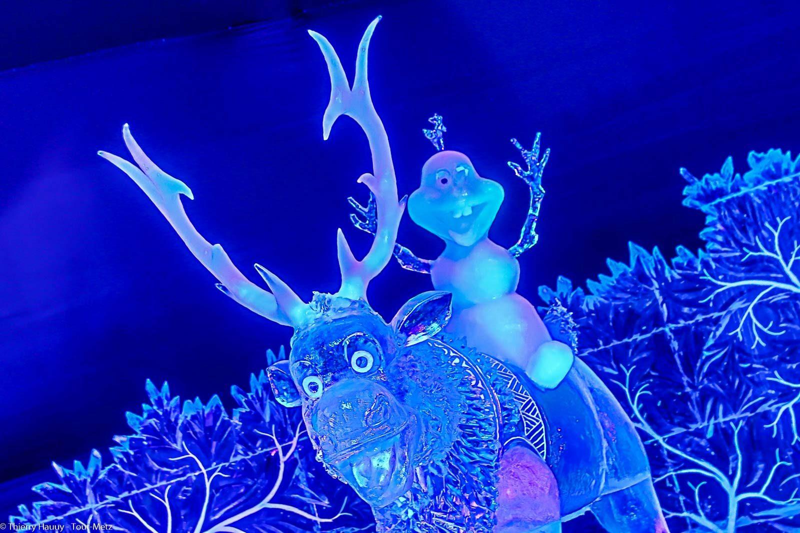 La Féerie de glace Disney à Metz : toutes les photos