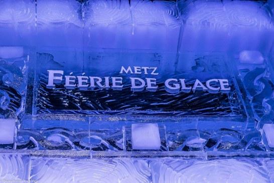 Féerie de glace à Metz : les sculptures géantes réinvestissent la place de la République