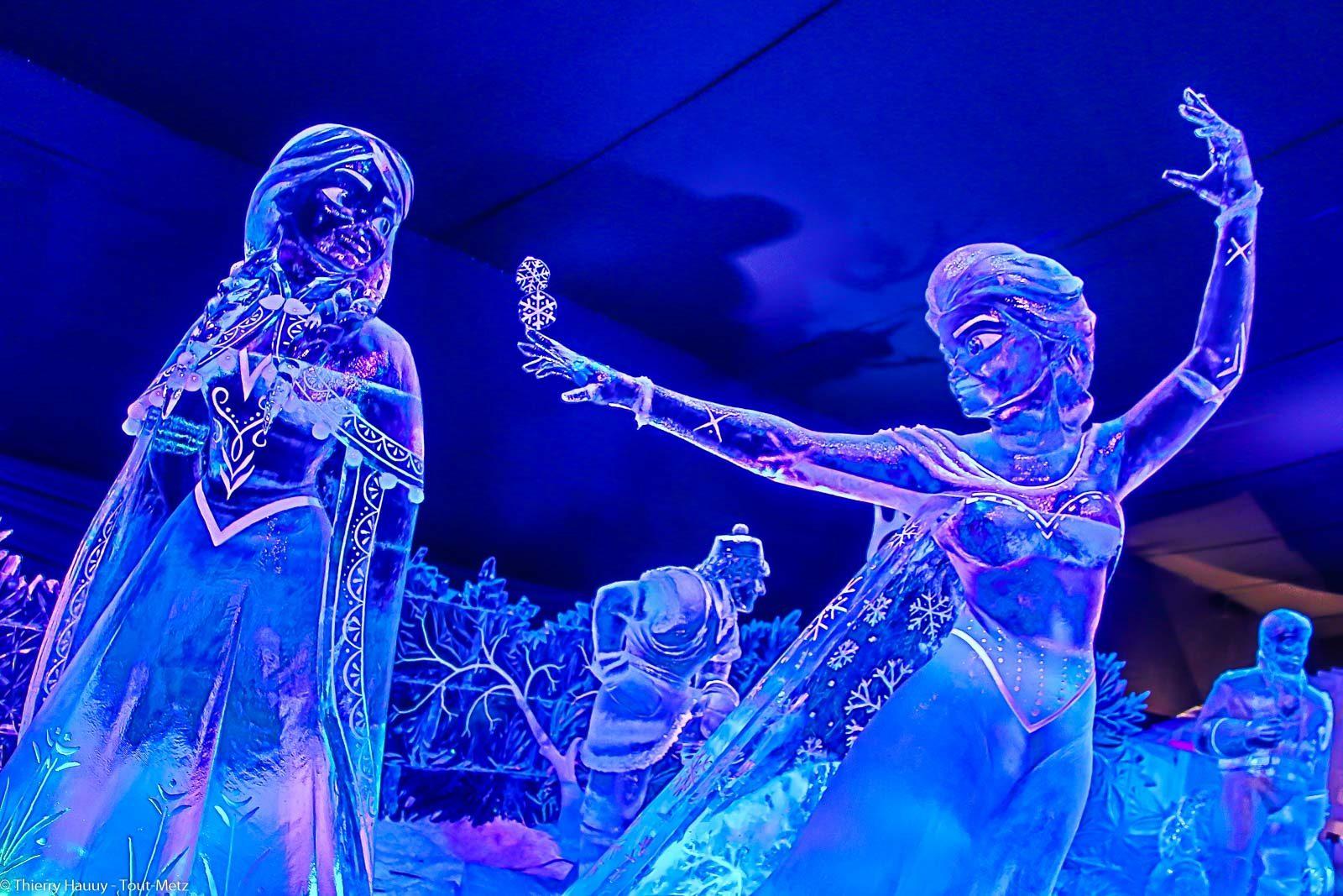 Derniers jours pour voir les sculptures de glace metz - Date des saint de glace 2017 ...
