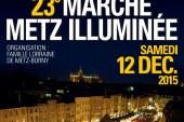 La Marche Metz illuminée annulée pour des raisons de sécurité