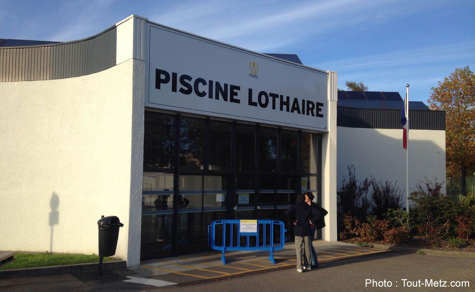 Metz : la piscine Lothaire fermée en raison du Marathon