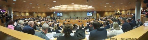 L'assemblée du Condeil Régional de la région Grand Est à Strasbourg