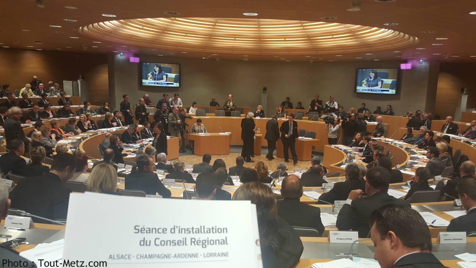 Photo de Président, vice-présidents, commissions : c'est parti pour la région Grand Est