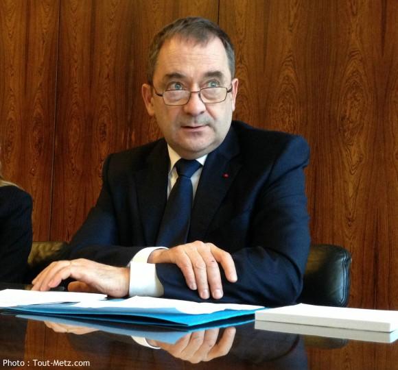 Le nouveau préfet de la Moselle, Emmanuel Berthier, a pris ses fonction au 1er janvier 2016