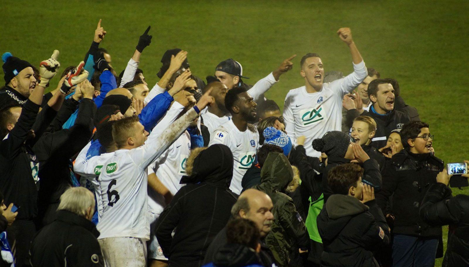 Photo of Coupe de France : le CFA2 de Sarreguemines sort Valenciennes, club de Ligue 2