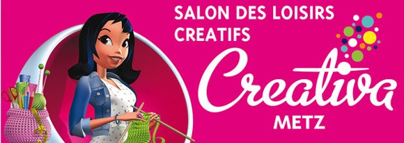 Salon creativa metz 2017 for Salon de l habitat metz 2017