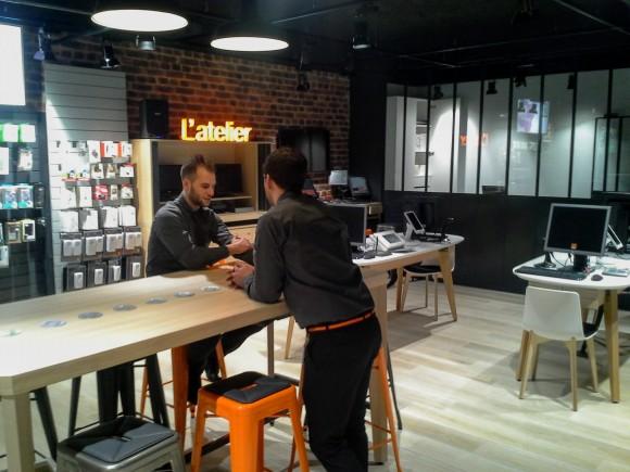 Ouverture d'un Smart Store d'Orange