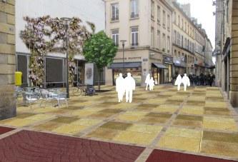 Centre piétonnier à Metz : les gros travaux reprennent, découvrez l'avant-après en photos