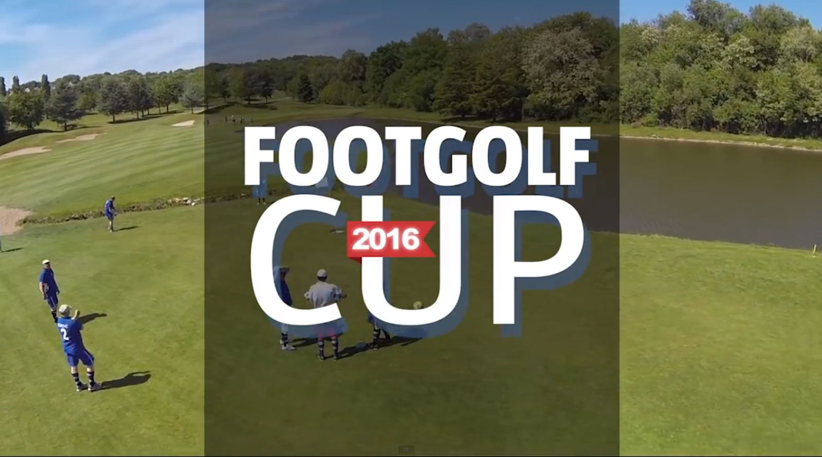 Marly : la « Footgolf cup 2016 » au golf de la Grange aux Ormes
