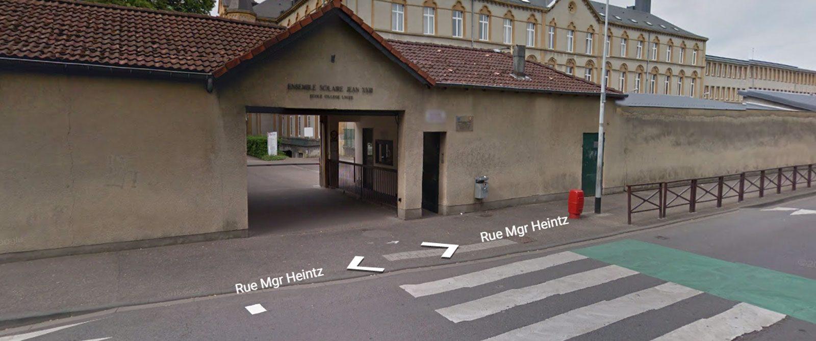 Metz : une jeune femme se retrouve coincée sous un bus