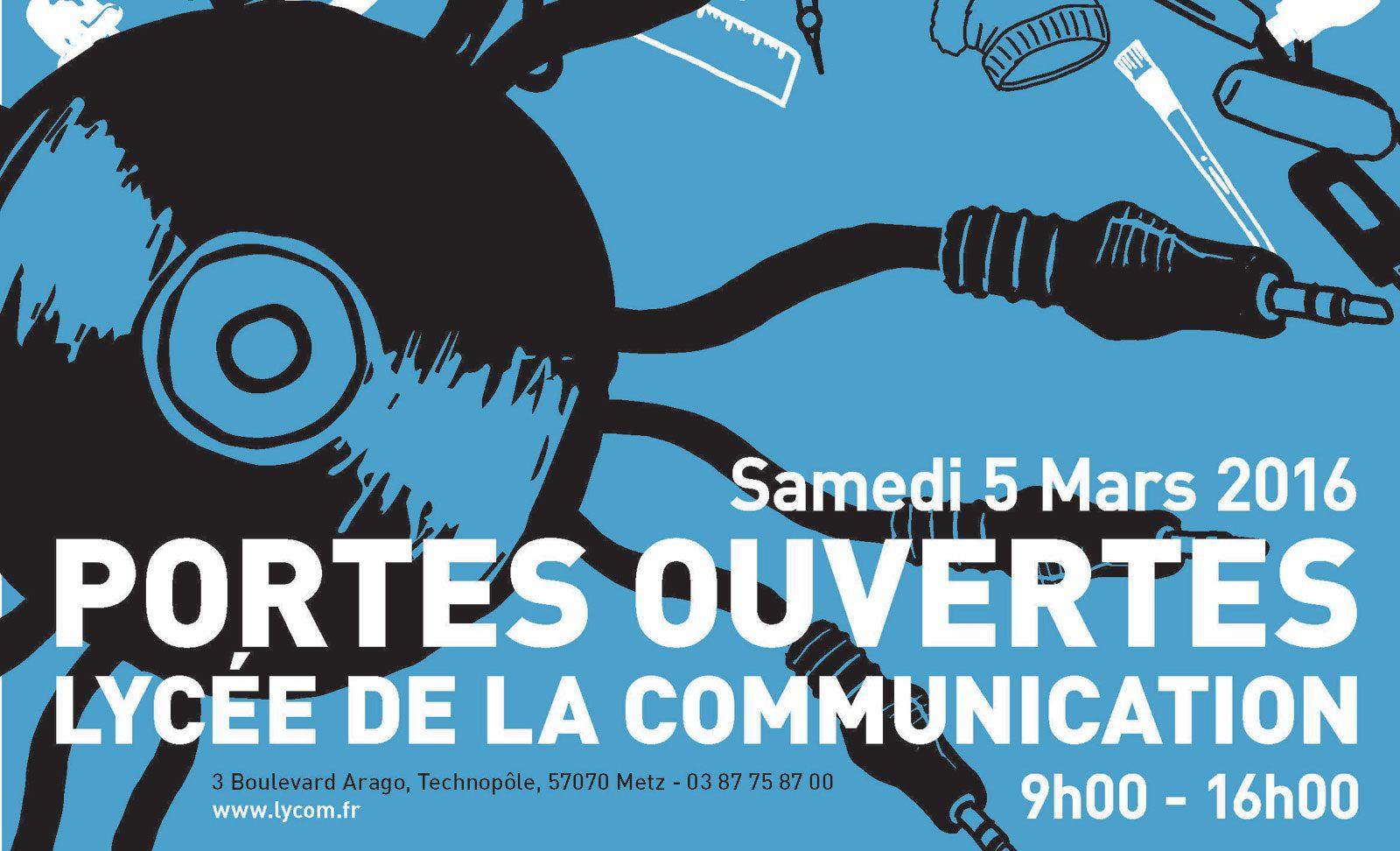 Le Lycée de la Communication de Metz ouvre ses portes