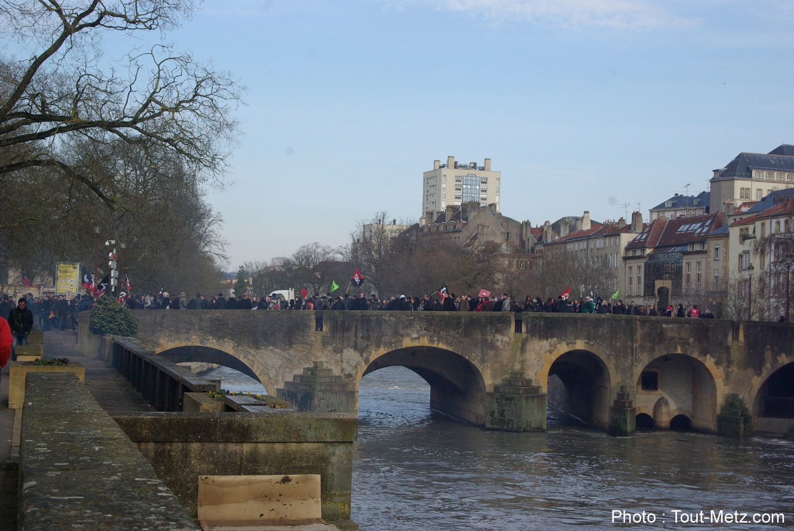 Manifestation du 22 mars à Metz : une forte mobilisation