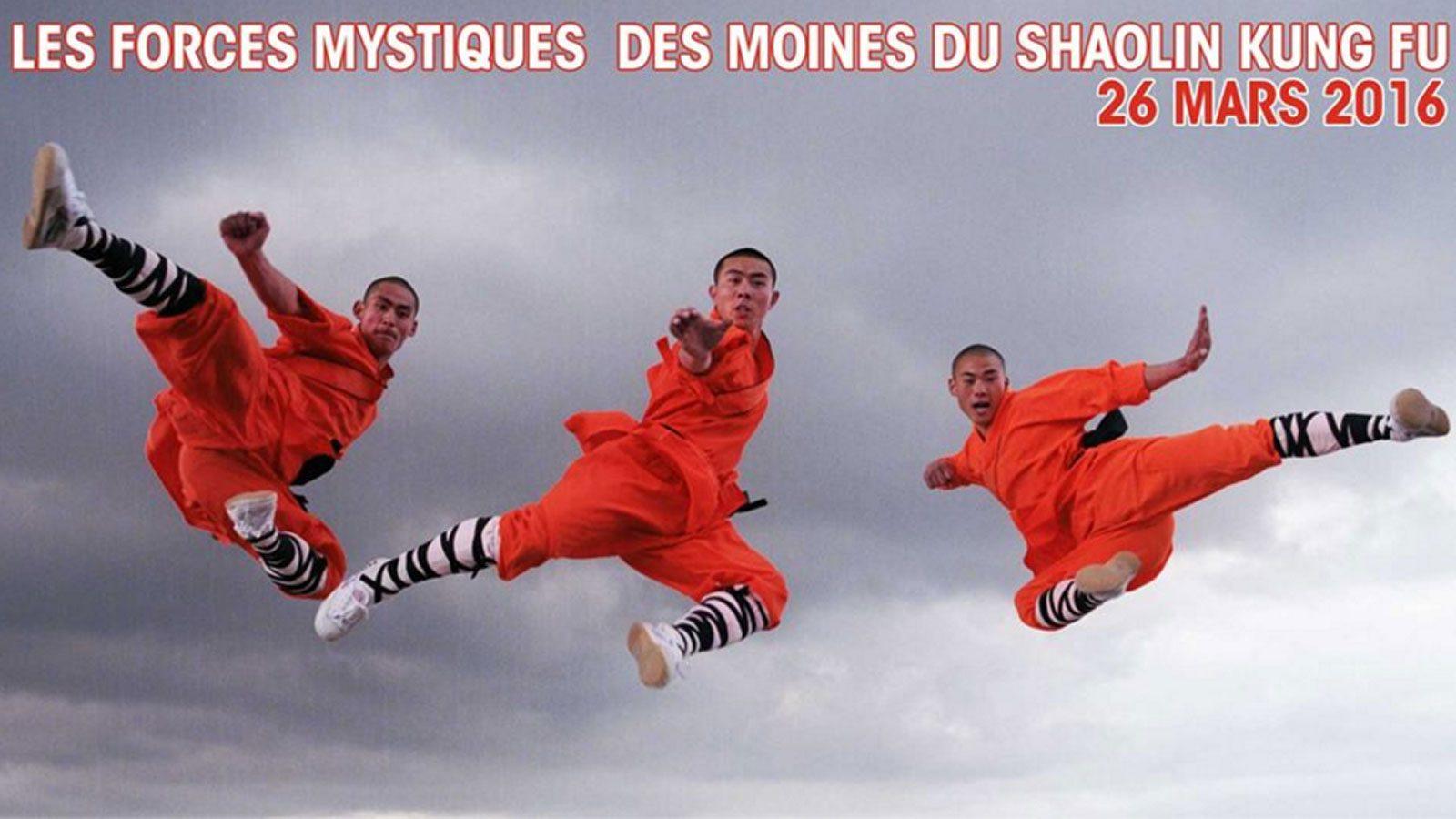 Le pouvoir des Moines Shaolin au Seven casino d'Amnéville