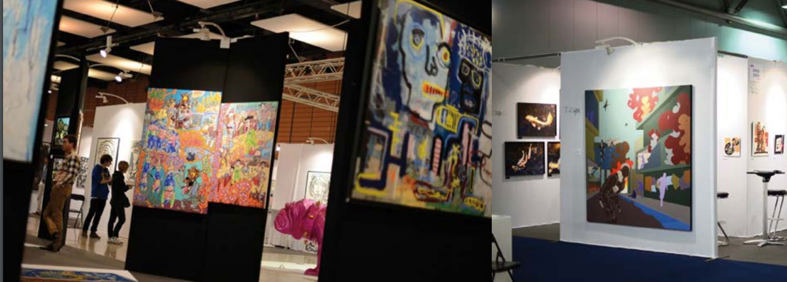 Salon d art contemporain art3f metz 2016 - Salon art contemporain ...