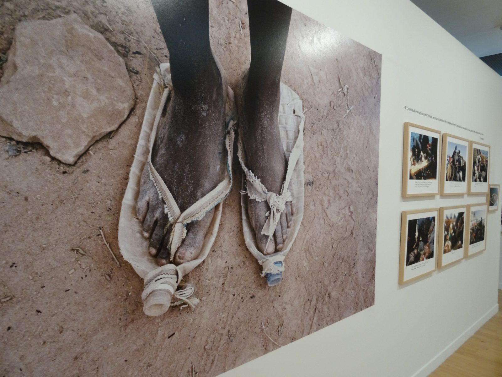 Exposition «L'Odyssée de l'errance» à Metz : récits de réfugiés