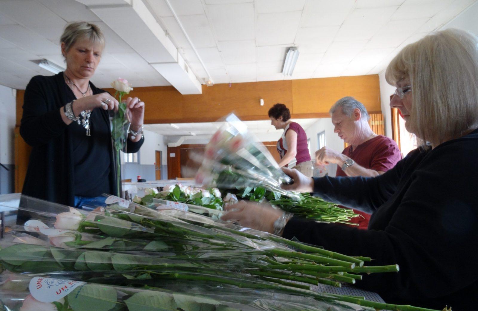Bénévoles d'Une rose un espoir : «On se sent investis d'une mission»