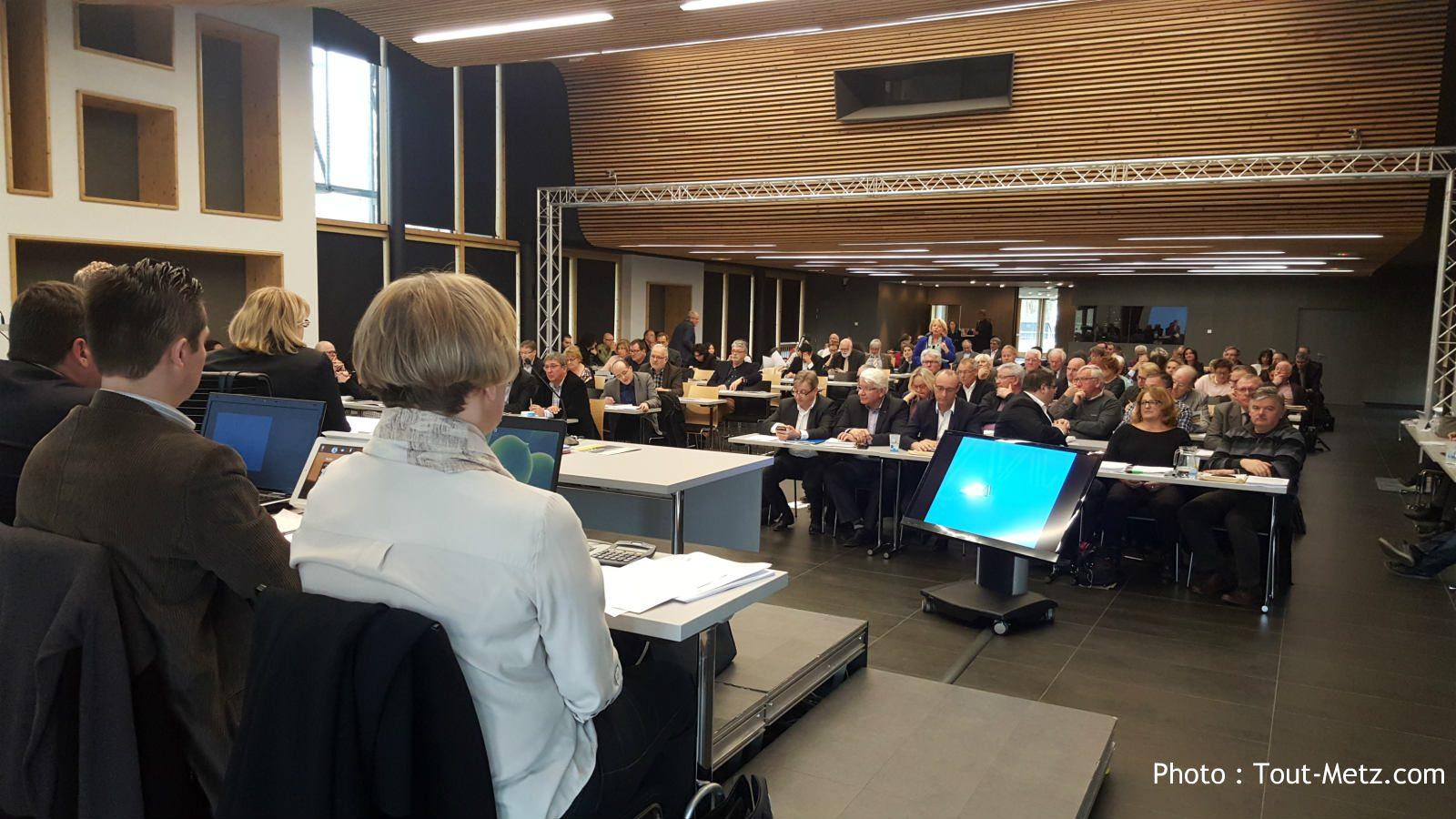 Le budget de Metz Métropole voté : hausse des impôts et plan d'investissement sur 5 ans