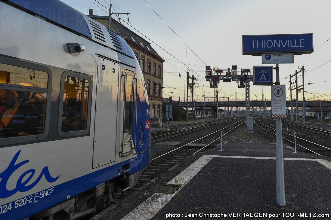 Photo de Accident de personne en gare de Thionville : aucun train pendant 2h ce lundi matin