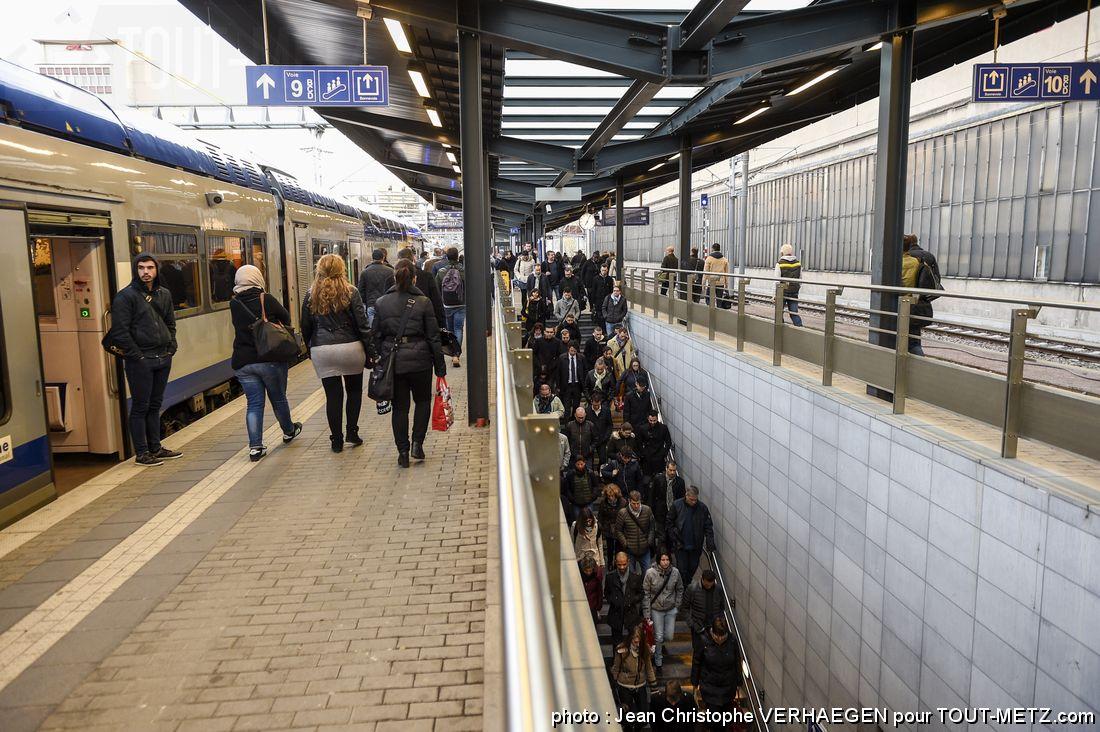 Trafic des trains Thionville-Luxembourg : plus aucune perturbation