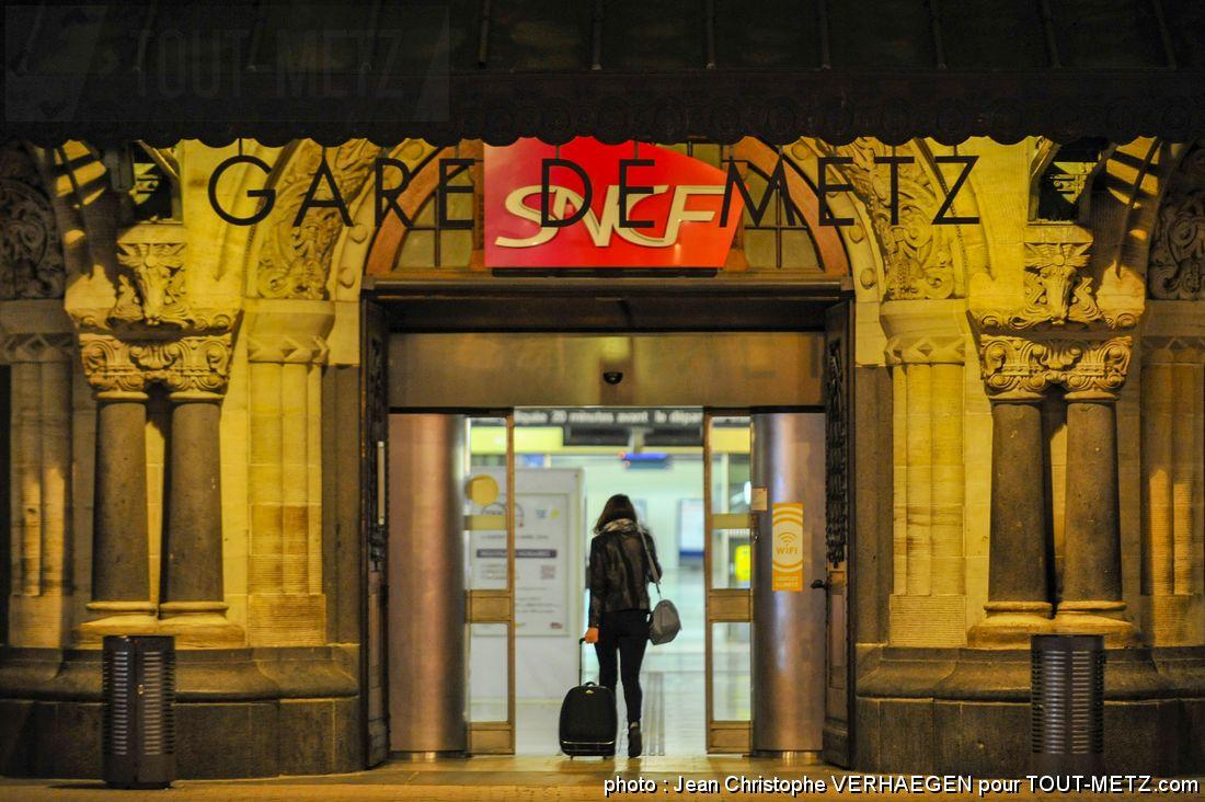 Photo de Opération Chefs de gare à Metz : les produits du terroir entrent en gare
