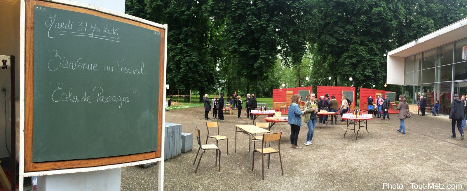 Festival «Écoles de Passages» à Metz : les élèves comédiens sur le devant de la scène