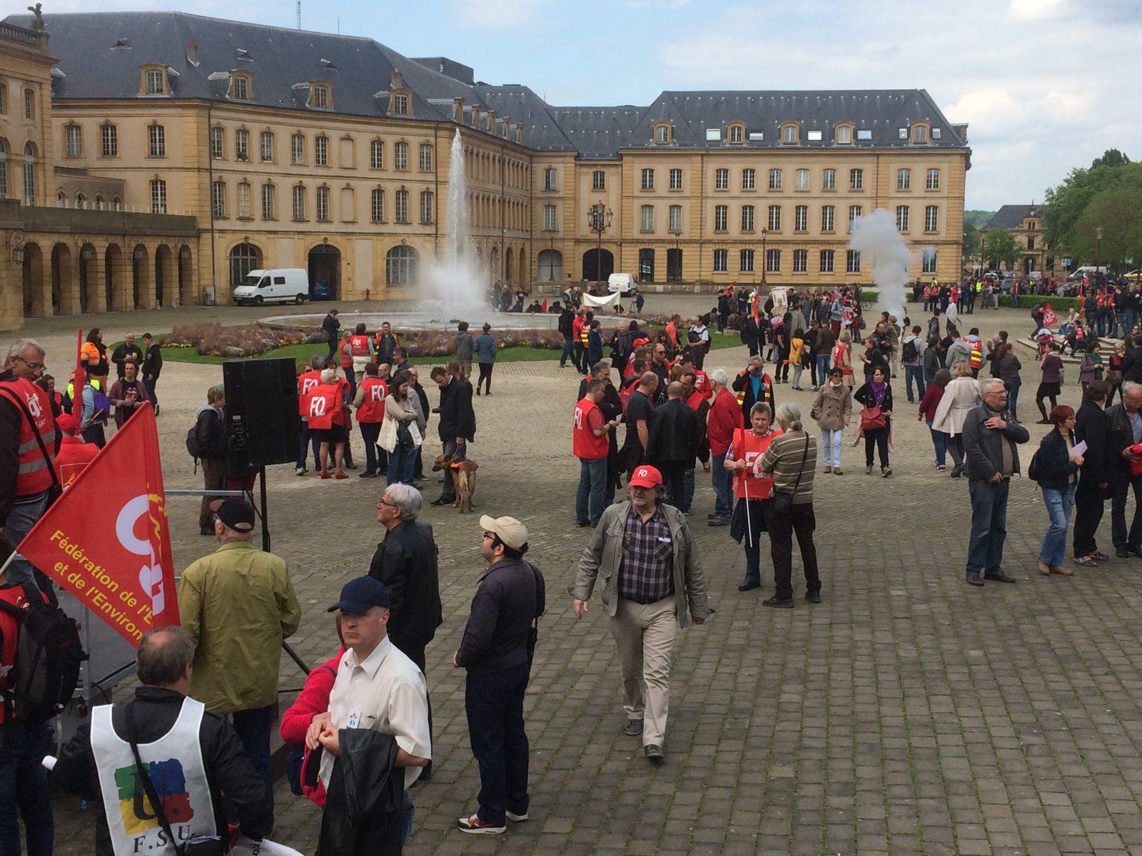 Loi Travail à Metz : un mouvement qui s'essoufle