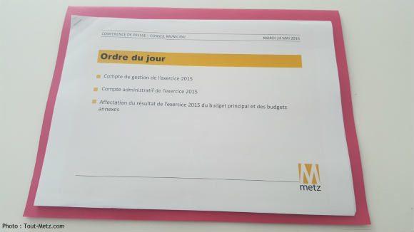 Les chiffres consolidés de l'exercice 2015 au menu du conseil municipal de ce jeudi 26 mai 2016.