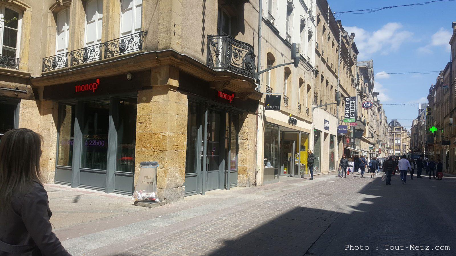 Le Monop' à Metz est ouvert (photos)