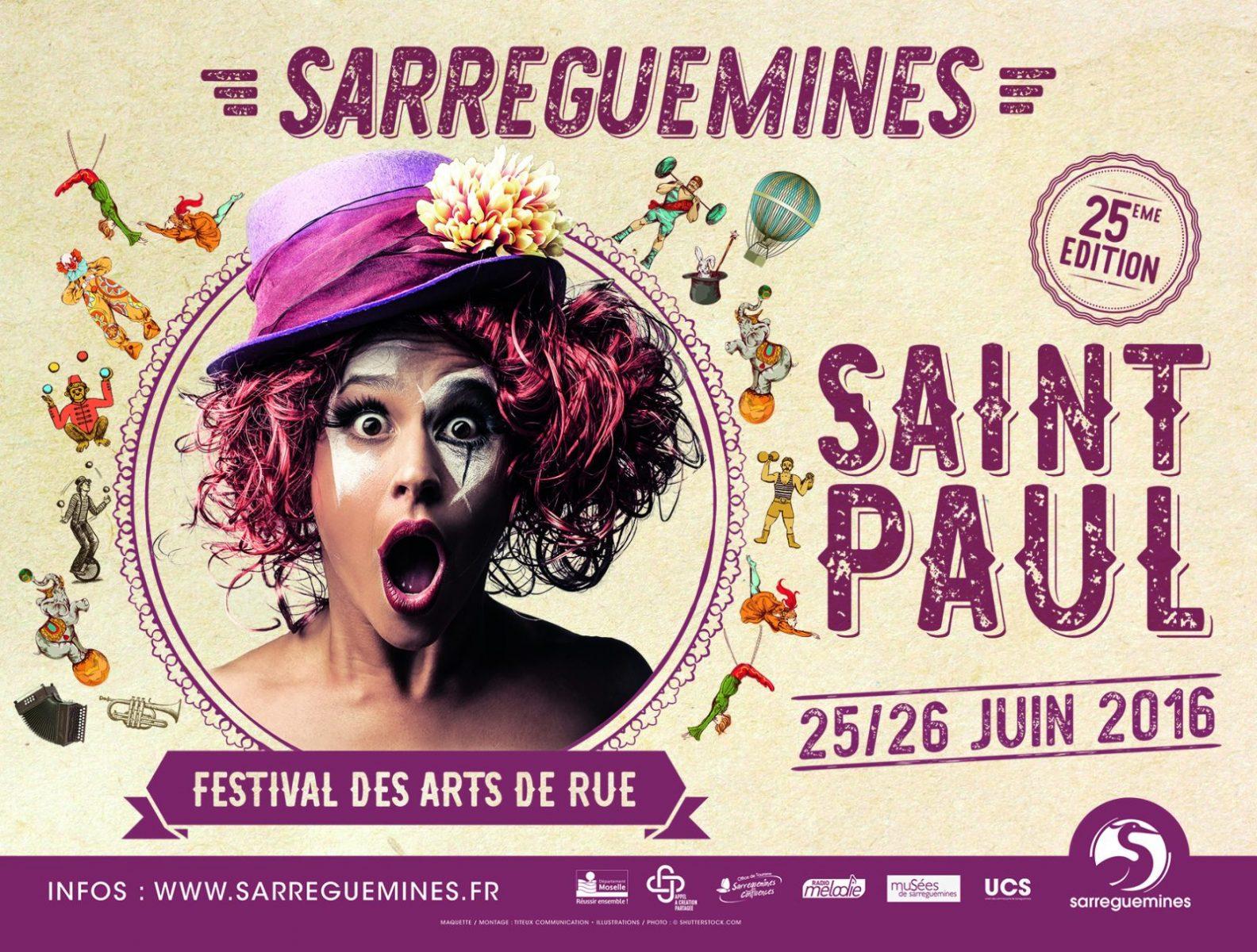 Photo of Sarreguemines : 180 artistes prévus au Festival de la Saint Paul