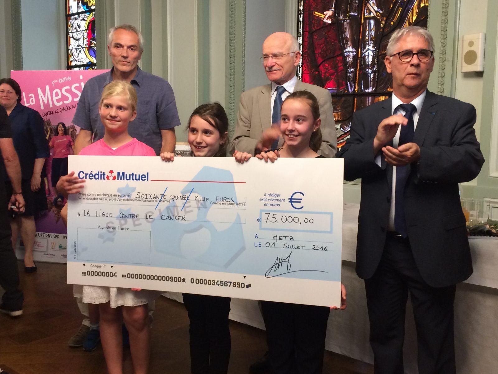 La Messine 2016 rapporte 75 000€ à la Ligue contre le Cancer