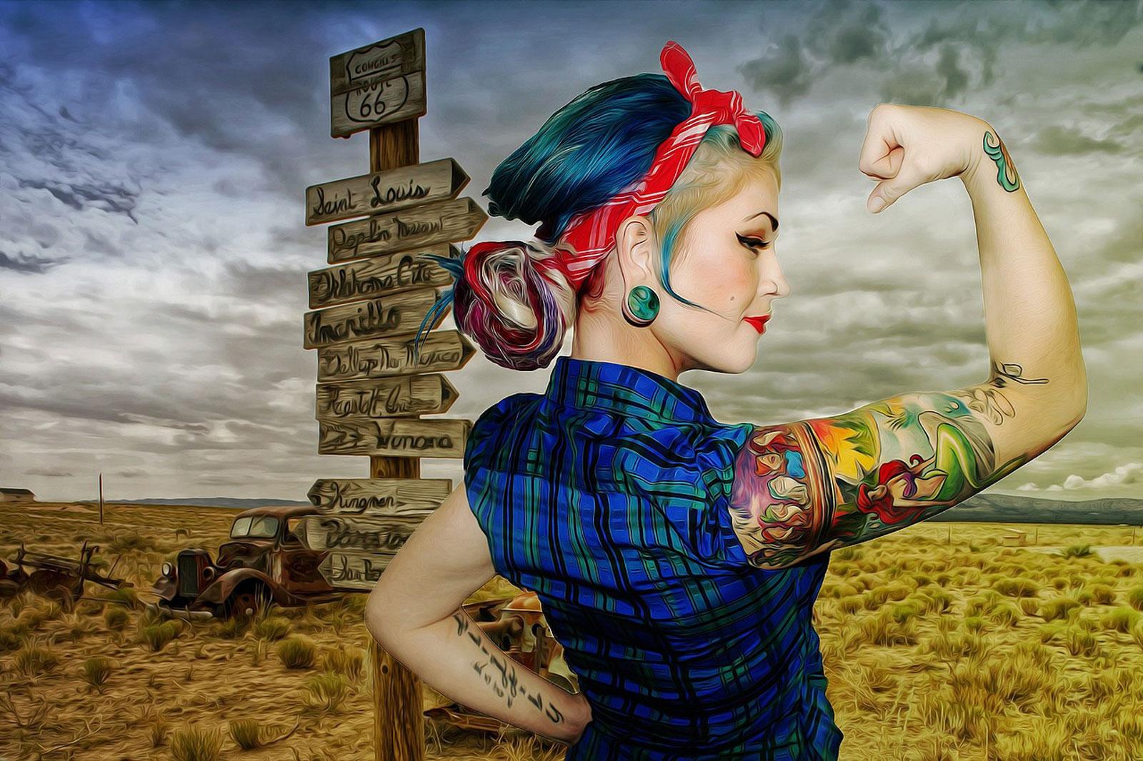 Photo de Amnéville dans le rétro : tatouages, pin-up, concerts et motor show le temps d'un week-end