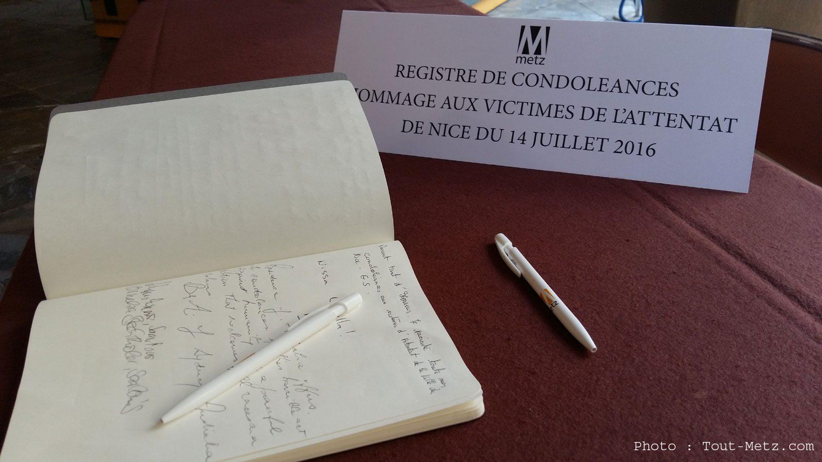 Attentat à Nice : les 1ers messages de soutien des Messins envers les victimes et les familles